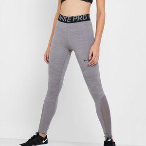 Nike Pro Mesh Cutout Tight Fit Training Leggings